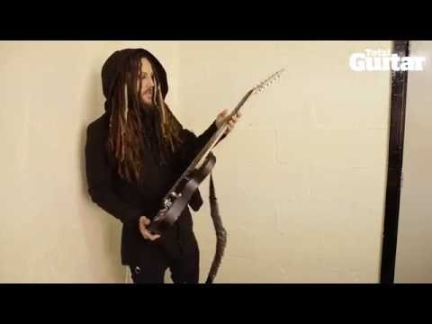 Me And My Guitar interview with Korn's Brian 'Head' Welch / Ibanez KOMRAD20RS