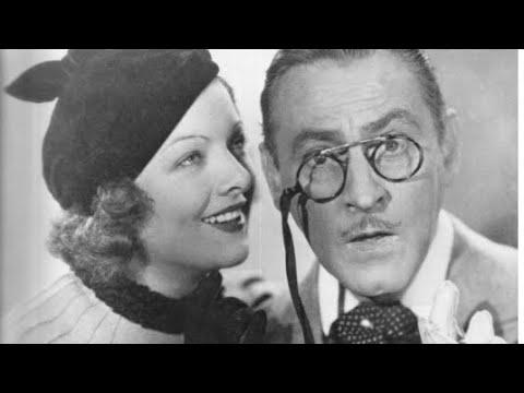 1933 Pre-Code Drama - Topaze stars MYRNA LOY JOHN BARRYMORE Classic Movie