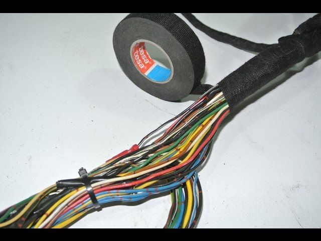 How to DIY - wiring harness restoration - YouTubeYouTube