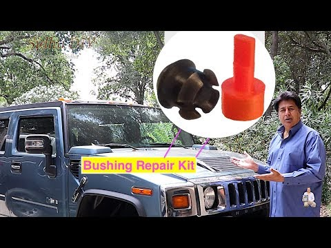 Gear Shifter Stuck in Park | HUMMER Transmission Shift Cable Bushing Repair