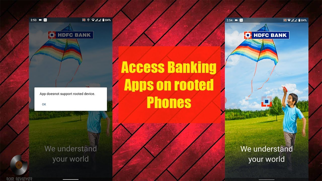 How To Run Latest Hdfc App Or Other Banking Apps On Rooted Phone Even On Magisk Youtube