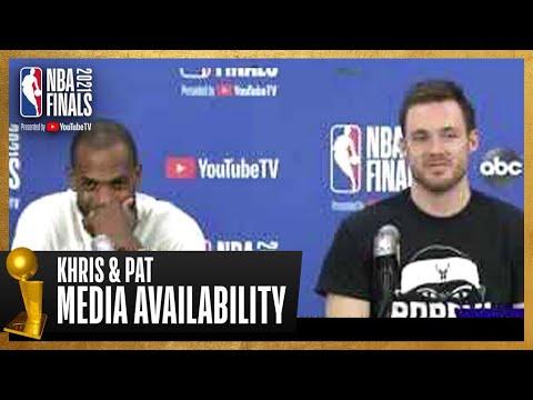 Khris Middleton & Pat Connaughton Game 5 Postgame Press Conference | #NBAFinals