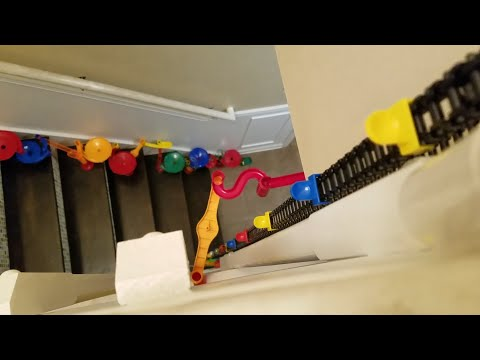 INSANE 3 STORY MARBLE RUN WITH 15 FOOT ELEVATOR!