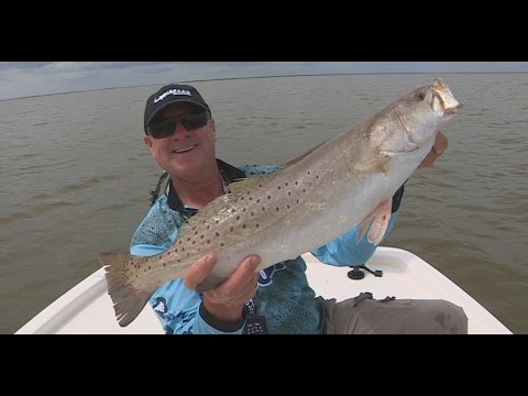 FOX Sports Outdoors SouthWEST #16 - 2016 East Matagorda Bay Texas Speckled Trout Fishing