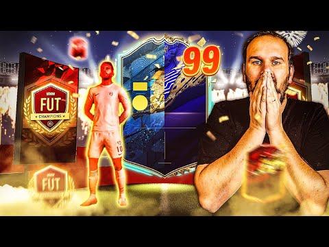 JE PACK ENFIN MON PREMIER TOTS A 99 ET UN TOTY ! FIFA 20