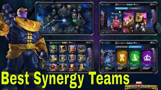 Best Synergy Teams for Quests Marvel Contest of Champions