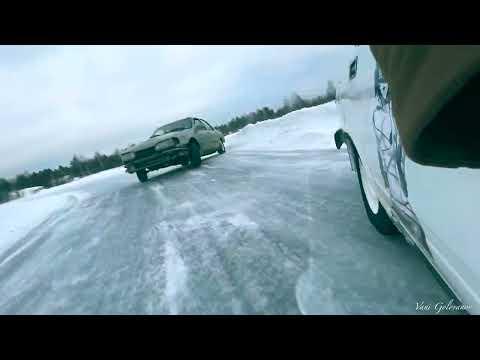 Открытие ледовой трассы для дрифта в г. Полевской. MDA - Молодежное движение автолюбителей.