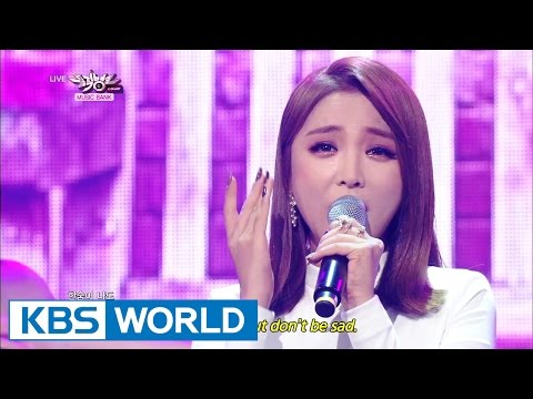 Hong JinYoung – Cheer Up | 홍진영 - 산다는 건 [Music Bank COMEBACK / 2014.10.31]