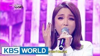 Hong JinYoung – Cheer Up   홍진영 - 산다는 건 [Music Bank COMEBACK / 2014.10.31]