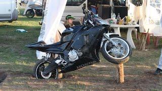 Moto Grand prix France Le Mans mai 2015 camping