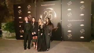 Željko i Milica Mitrović sa ćerkama stigli na proslavu 25 rođendana TV Pink