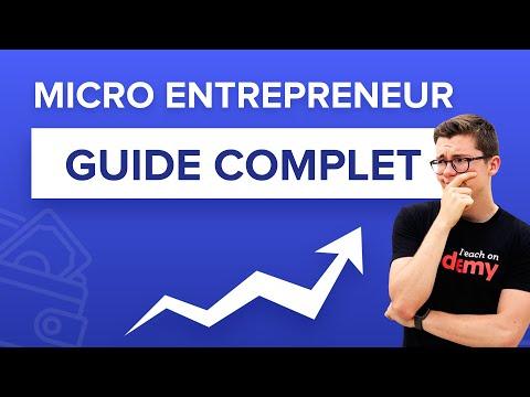 Devenir Micro-entrepreneur : Le Guide Complet En 2020