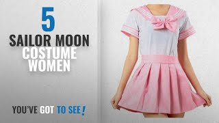 Top 10 Sailor Moon Costume Women [2018]: WenHong Japan School Uniform Dress Cosplay Costume Anime