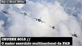 CRUZEX 2018, o maior exercício multinacional da FAB