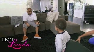 Evelyn and Carl Crawford Spend Quality Time with Their Son Leo | Livin' Lozada | OWN