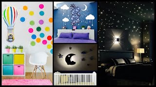 4 Super Cute Wall Decor Ideas For A Lovely Room|gadac Diy|wall Hanging With Lights| Diy Room Decor