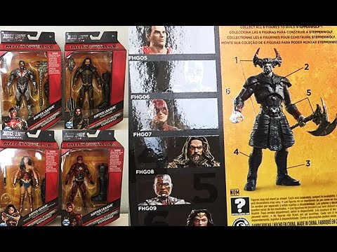 Mattel Reveals/Thoughts: DC Multiverse Justice League Movie Series (Steppenwolf Collect n Connect)