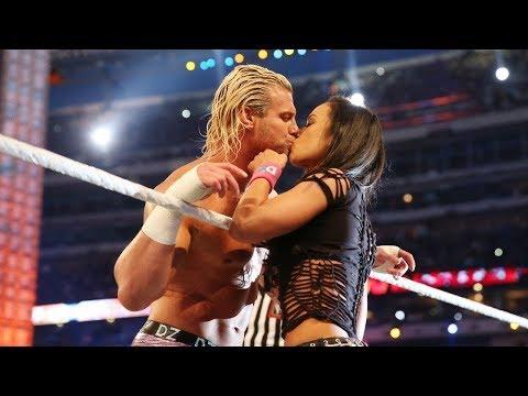 AJ Lee BEST KISSING MOMENTS   Fight Zone