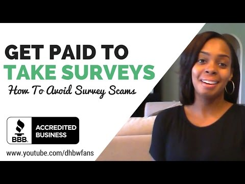Get Paid To Take Surveys (BBB Accredited) and Avoiding Survey Scams