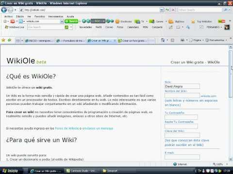 Como crear correo misena, foro, wiki - Fernando Alegria