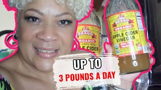 LOSE UP TO 3 POUNDS A DAY WITH APPLE CIDER VINEGAR