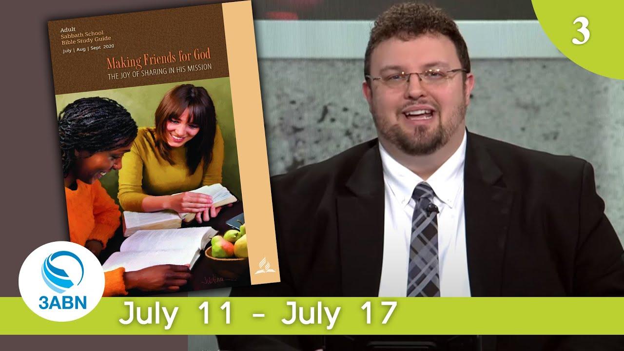 Seeing People Through Jesus' Eyes | Sabbath School Panel by 3ABN - Lesson 3 Q3 2020