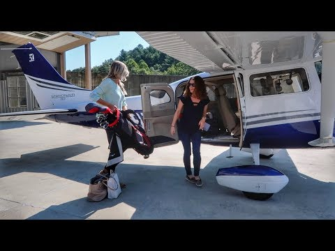 Flying a Brand New Cessna 206! - Heaven's Landing to Falcon Field
