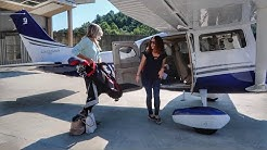 Flying a Brand New Cessna 206! - Heaven's Landing to Falcon Field