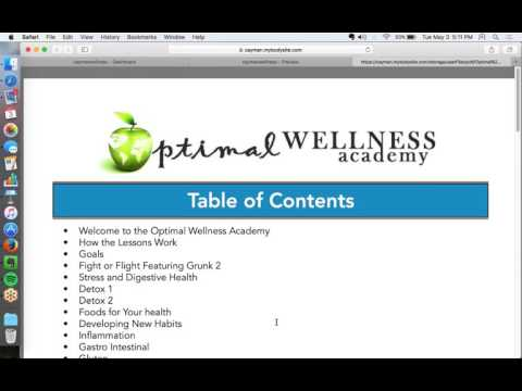 Optimal Wellness Academy   The New Secret Weapon in Your Practice1462309475