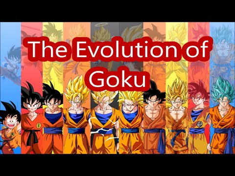 all of gokus forms and transformations fusions