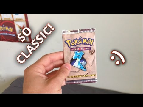 Pokemon - 1999 Fossil Booster Pack Opening!