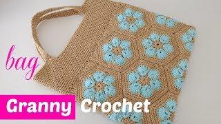 crochet step-by-step bag