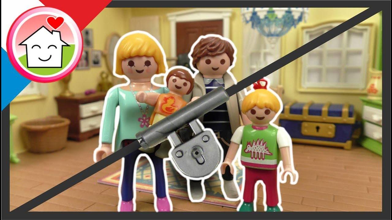 Playmobil en francais La famille Hauser dans l'Escape Room - Famille Hauser