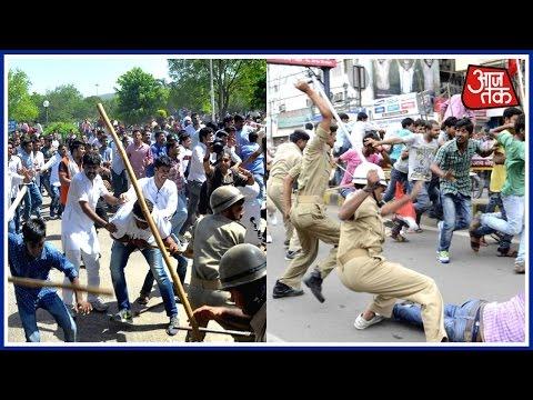 100 Shehar 100 Khabar: Lathi Charge In Jaipur University Campus