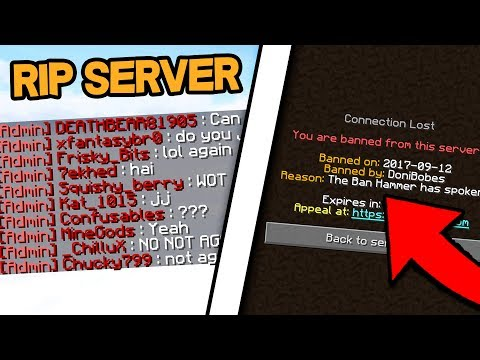 GIVING THE WHOLE SERVER ADMIN! *WORST IDEA* (Minecraft Trolling)