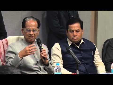 CM Tarun Gogoi in an IOA Coordination Meeting