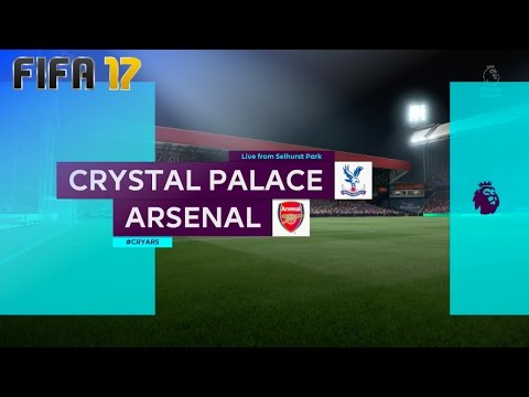 FIFA 17 - Crystal Palace vs. Arsenal @ Selhurst Park