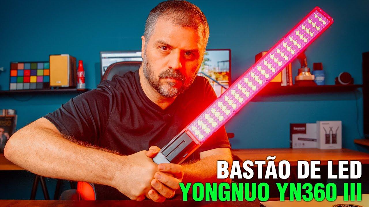 Bastão de Led Yongnuo YN360 III Review completo de efeitos. É bom, mas podia ser bem melhor.