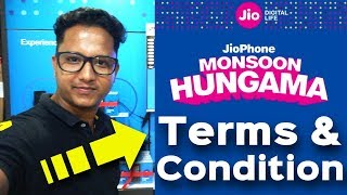 JioPhone Monsoon Hungama Offer Terms & Condition | New Rs.99 Plan | Rs.501 Refundable ?? | Data Dock