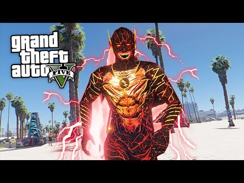 ULTIMATE REVERSE FLASH!! (GTA 5 Mods)