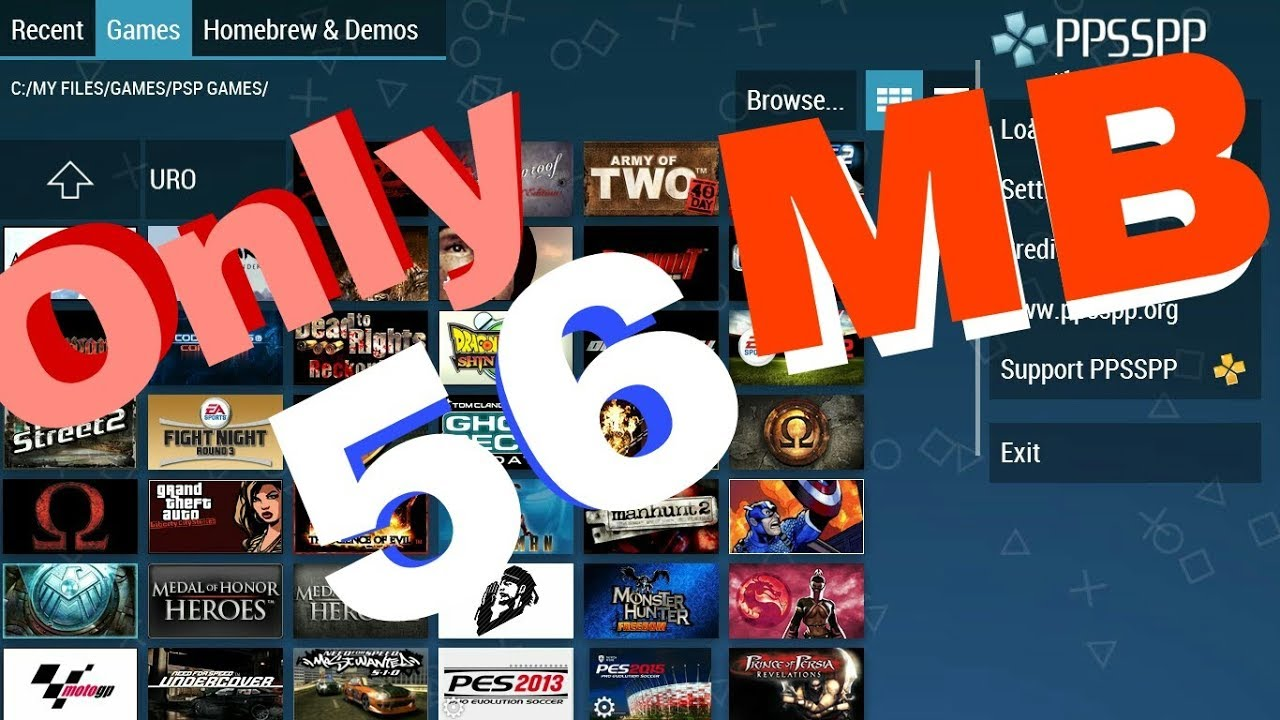 [5 MB] All PSP Games In Android+GTA SA All Mission Skt