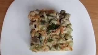 Вкусный салат с говяжьим языком