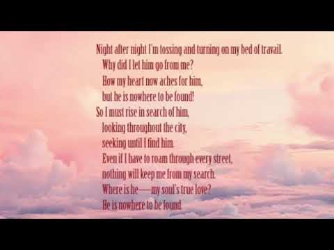 Love's Love Song ( Song Of Songs) The Passion Translation 3 Of 8