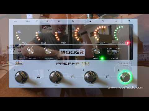 Mooer Preamp Live | Delicious Audio - The Stompbox Exhibit's