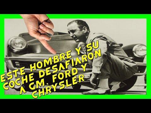 ¿EL AUTO MÁS INNOVADOR DEL SIGLO XX? LA LUCHA DE PRESTON TUCKER vs GM, FORD Y CHRYSLER