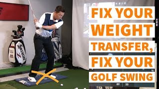 Fix your weight transfer | Fix your golf swing