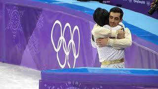 羽生結弦 Yuzuru Hanyu & Fernandez フェルナンデス 平昌オリンピック PyeongChang Olympic セレモニー 後 After ceremony