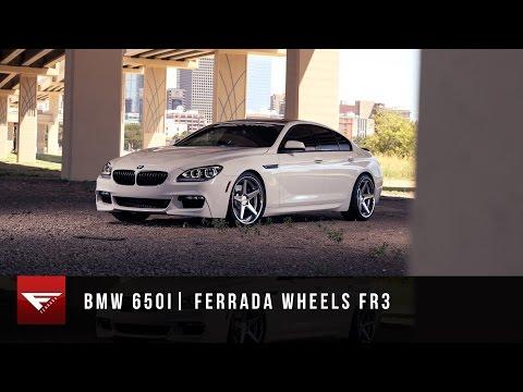 2015 BMW 650i | Ferrada Wheels FR3 Machine Silver