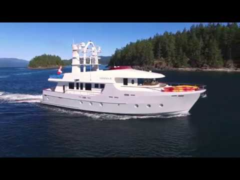 For Sale 2002 86' Cape Scott Custom Expedition Yacht