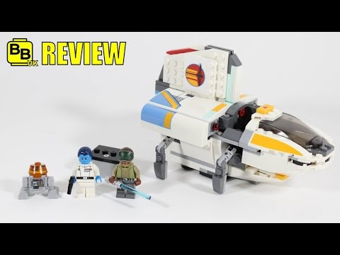LEGO STAR WARS REBELS THE PHANTOM 75170 SET REVIEW
